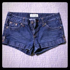 Aeropostale Jean Short Shorts